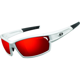 Tifosi Escalate FH Glasses Herren matte white - clarion red/ac red/clear